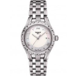 Tissot T-Lady Mother of Pearl Bracelet Watch T072.010.11.118.00