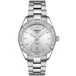 Tissot Ladies PR100 Sport Chic Silver Watch T101.910.11.031.00