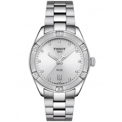 Tissot Ladies PR100 Sport Chic Diamond Watch T101.910.11.036.00
