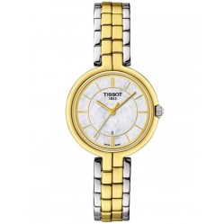 Tissot Ladies T-Lady Flamingo Two Colour Watch T094.210.22.111.01