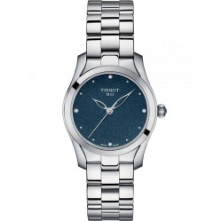 Tissot Ladies T-Wave Diamond Blue Watch T112.210.11.046.00