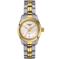 Tissot Ladies Pr 100 Gold Plated Watch T101.010.22.111.00