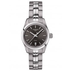 Tissot Ladies PR100 Dark Grey Dial Bracelet Watch T1010101106100