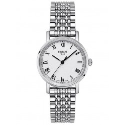 Tissot Ladies Everytime Small Jungfraubahn Edition Silver Dial Stainless Steel Bracelet Watch T109.210.11.033.10