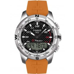 Tissot Mens T-Touch II Titanium Strap Watch T047.420.47.207.01