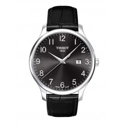 Tissot Mens Traditional Steel Strap Watch T063.610.16.052.00