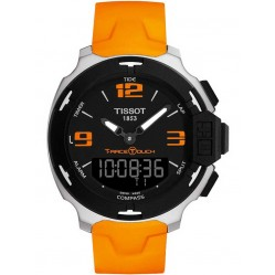 Tissot T-Touch T-Race Orange Strap Watch T081.420.17.057.02