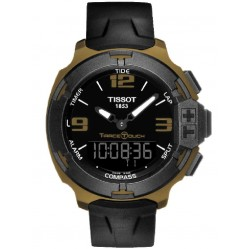 Tissot Mens T-Race Touch Aluminium Strap Watch T081.420.97.057.06