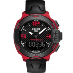Tissot Mens T-Race Touch Aluminium Strap Watch T081.420.97.207.00