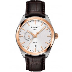 Tissot Mens T-Classic PR100 Dual Time Watch T101.452.26.031.00