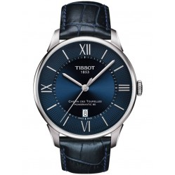 Tissot Mens Chemin Des Tourelles Powermatic Blue Watch T099.407.16.048.00
