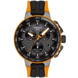 Tissot Mens T-Race Cycling Orange Watch T111.417.37.441.04