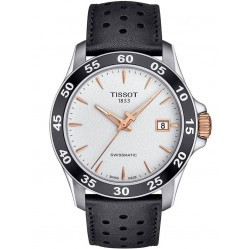 Tissot Mens V8 Swissmatic Black Watch T106.407.26.031.00