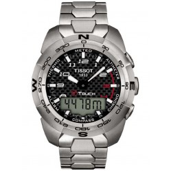 Tissot Mens T-Touch Expert Titanium Watch T013.420.44.202.00