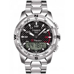 Tissot Mens T-Touch II Titanium Watch T047.420.44.207.00