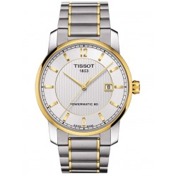 Tissot Mens Titanium Bracelet Watch T087.407.55.037.00