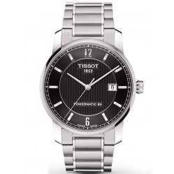 Tissot Mens T-Classic Titanium Watch T087.407.44.057.00