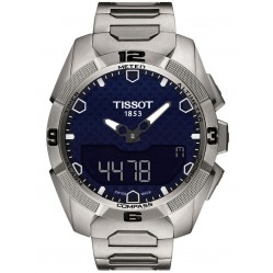 Tissot Mens T-Touch Solar Bracelet Watch T091.420.44.041.00