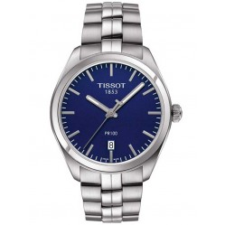 Tissot Mens T-Classic PR100 Bracelet Watch T101.410.11.041.00