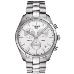 Tissot Mens T-Classic PR100 Chronograph Watch T101.417.11.031.00