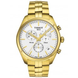 Tissot Mens PR100 Watch T101.417.33.031.00