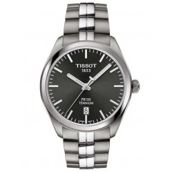 Tissot Mens T-Classic PR-100 Titanium Bracelet Watch T101.410.44.061.00