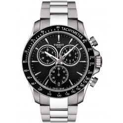 Tissot Mens Black Chronograph Bracelet Watch T106.417.11.051.00