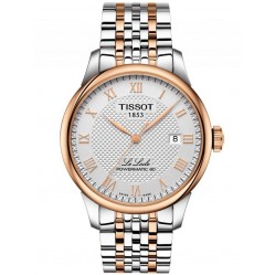 Tissot Mens T-Classic Le Locle Powermatic 80 Bracelet Watch T006.407.22.033.00