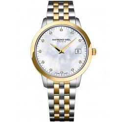 Raymond Weil Ladies Toccata Diamond Bracelet Watch 5388-STP-97081
