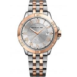 Raymond Weil Mens Tango Two Colour Bracelet Watch 8160-SP5000658