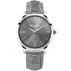 Thomas Sabo Mens Rebel At Heart Grey Watch WA0261-273-210