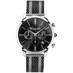 Thomas Sabo Mens Two Colour Rebel Spirit Chronograph Bracelet Watch WA0284-280-203-42