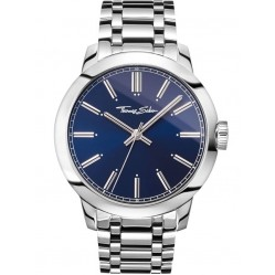 Thomas Sabo Mens Rebel Blue Watch WA0310-201-209-46MM