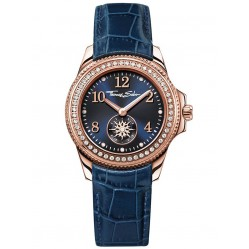 Thomas Sabo Ladies Blue Leather Watch WA0216-270-209