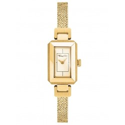 Thomas Sabo Glam And Soul Mini Vintage Gold Plated Mesh Bracelet Watch WA0331-264-207-23X15,5MM