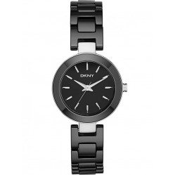 DKNY Ladies Black Ceramic Watch NY2355