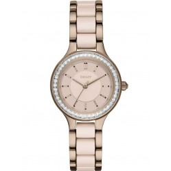 DKNY Ladies Chambers Rose Gold Plated Watch NY2467