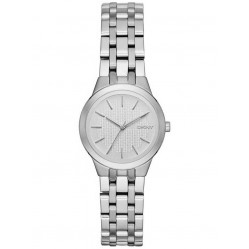 DKNY Ladies Park Slope Silver Watch NY2490