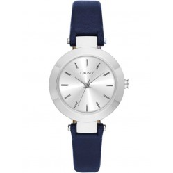 DKNY Ladies Stanhope Blue Strap Watch