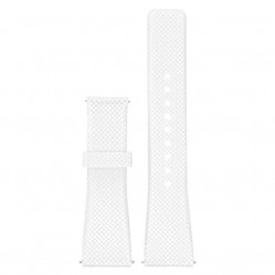 Michael Kors Ladies Access Bradshaw White Rubber Watch Strap MKT9001