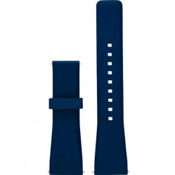 Michael Kors Ladies Access Bradshaw Blue Rubber Watch Strap MKT9002