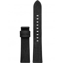 Michael Kors Access Black Sofie Leather Watch Strap MKT9039