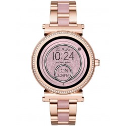 Michael Kors Access Ladies Sofie Rose Gold Plated smartwatch MKT5041