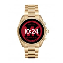 Michael Kors Ladies Bradshaw 2 Gold Plated Bracelet Smartwatch MKT5085