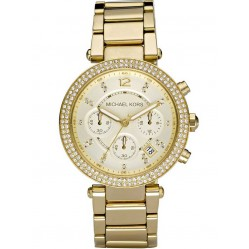 Michael Kors Ladies Parker Glitz Bracelet Watch MK5354