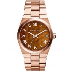 Michael Kors Ladies Tigers Eye Dial Watch MK5895