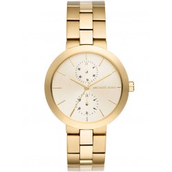 Michael Kors Ladies Garner Stainless Steel Bracelet Watch MK6408