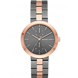 Michael Kors Ladies Garner Two Tone Bracelet Watch MK6431