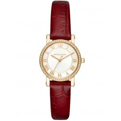 Michael Kors Ladies Petite Norie Strap Watch MK2635