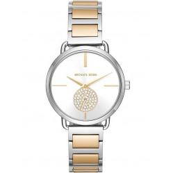 Michael Kors Ladies Portia Two Colour Bracelet Watch MK3679